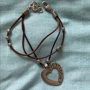 Brighton Brown leather bracelet